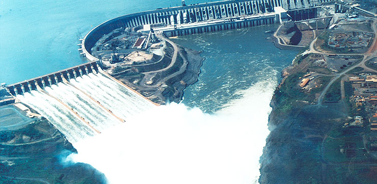 Hydroelectric Itaipu